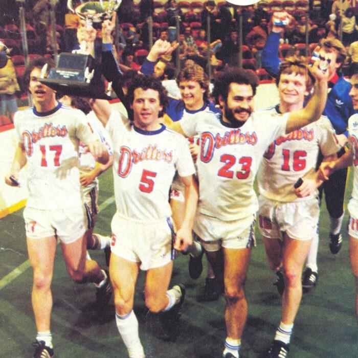 Edmonton Drillers 1981 Maglia Storica Calcio