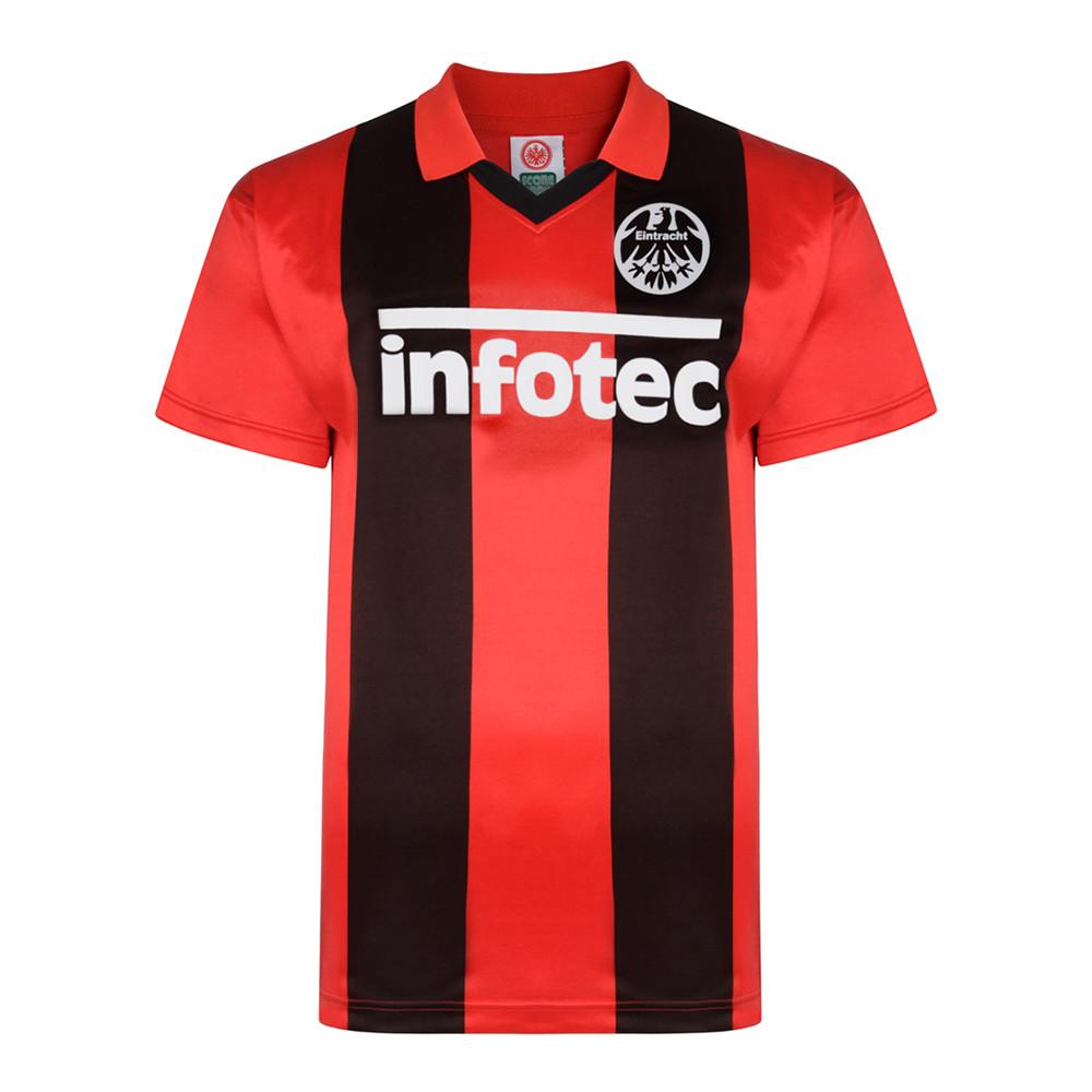 Eintracht Francoforte 1982-83 Maglia Storica