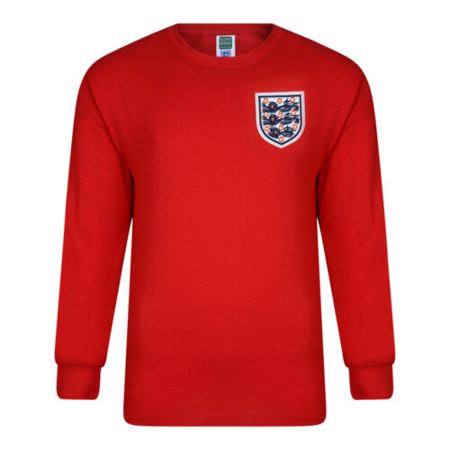 England 1966 Retro Football Jersey