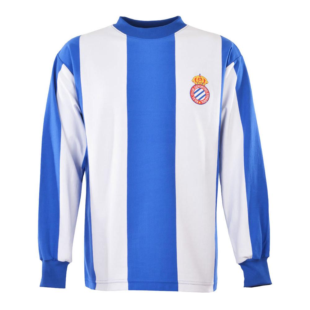 Espanyol 1970-71 Maillot Rétro Foot