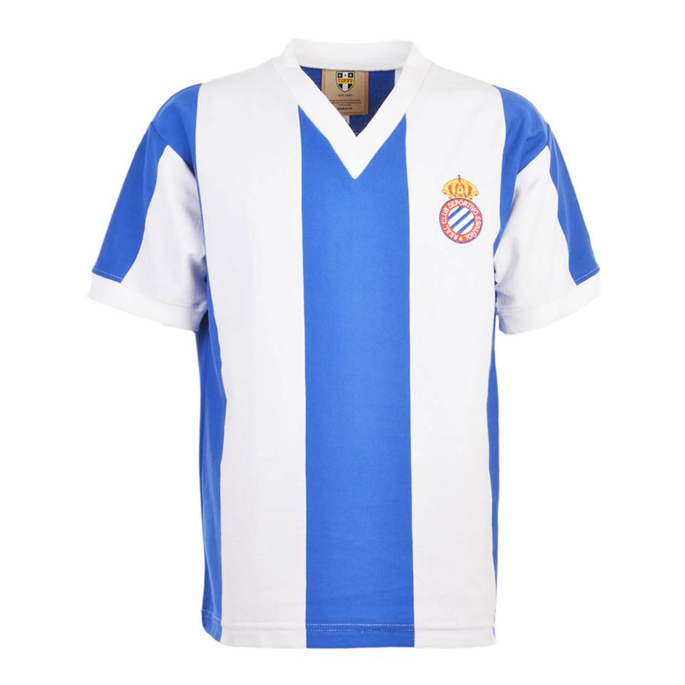 Espanyol 1975-76 Retro Football Shirt