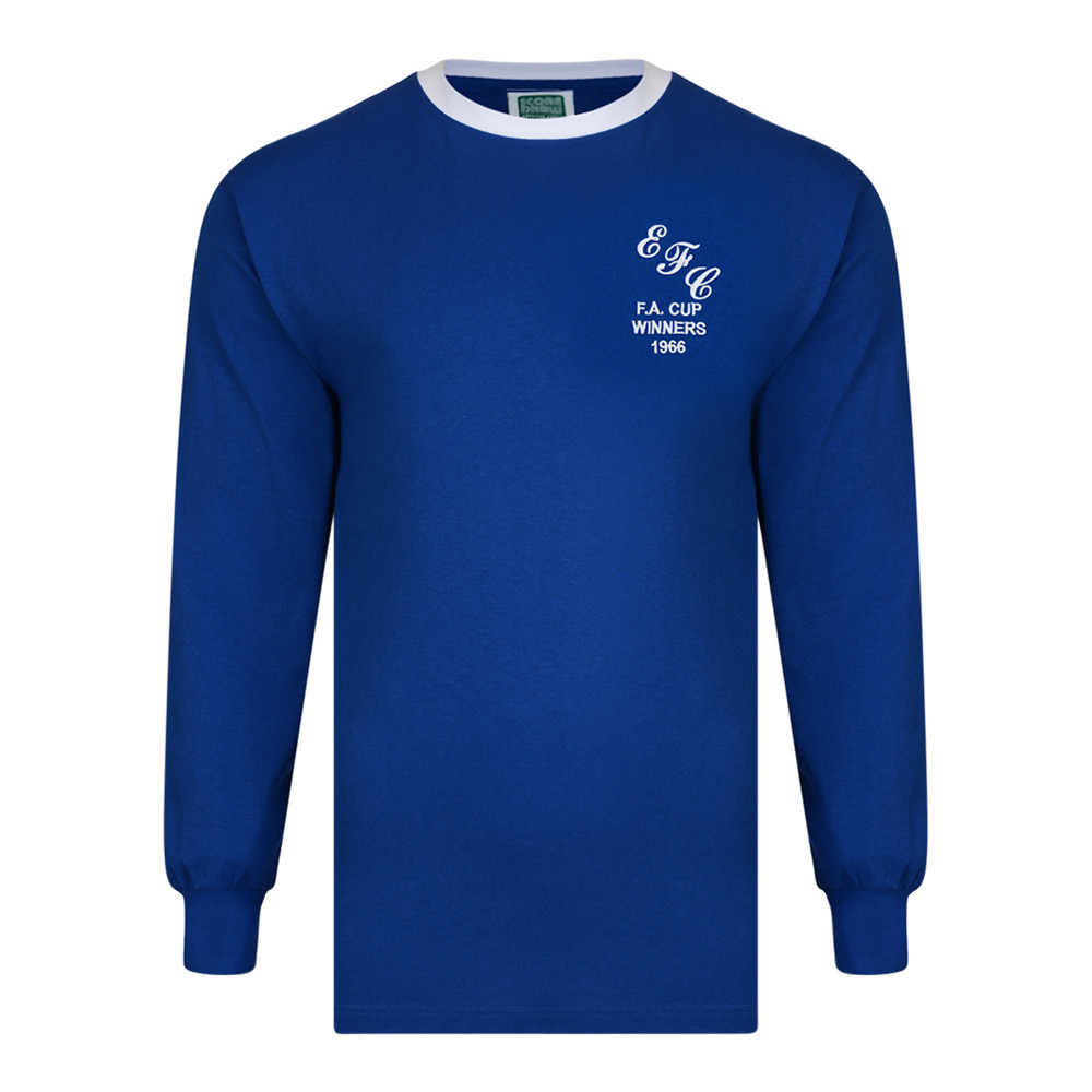 Everton 1965-66 Camiseta Retro Fútbol