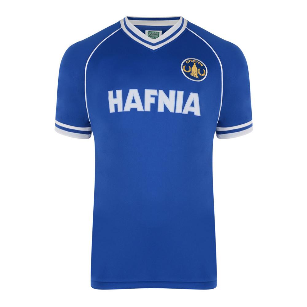 Everton 1982-83 Maglia Storica Calcio