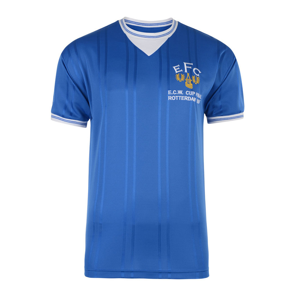 Everton 1984-85 Camiseta Retro Fútbol
