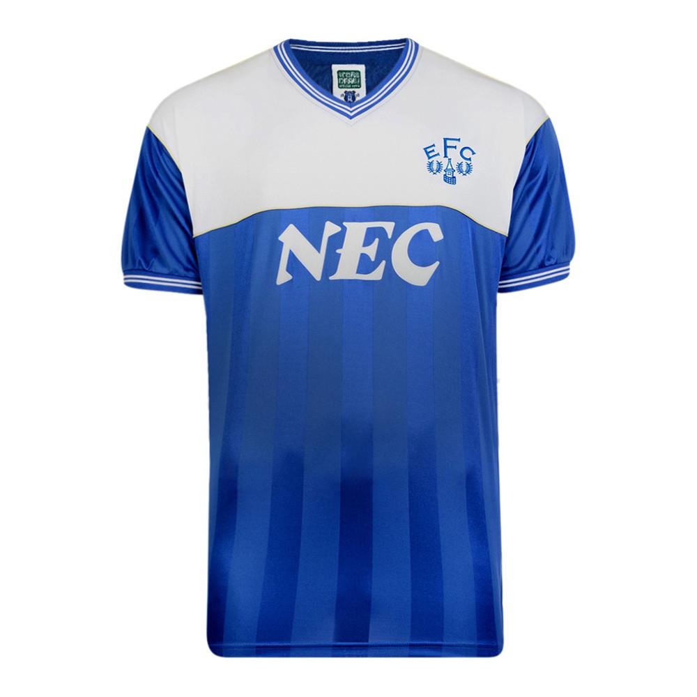 Everton 1985-86 Maglia Storica Calcio
