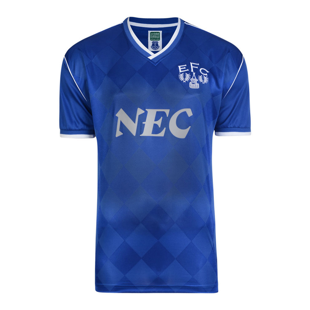 Everton 1986-87 Camiseta Retro Fútbol