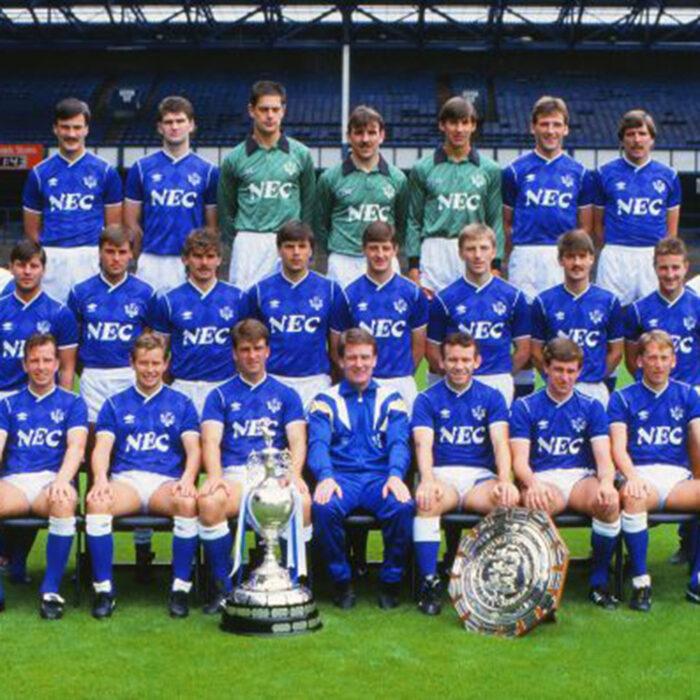Everton 1986-87 Maglia Storica Calcio