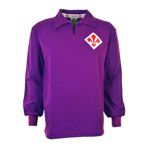 Fiorentina 1955-56 Camiseta Retro Fútbol