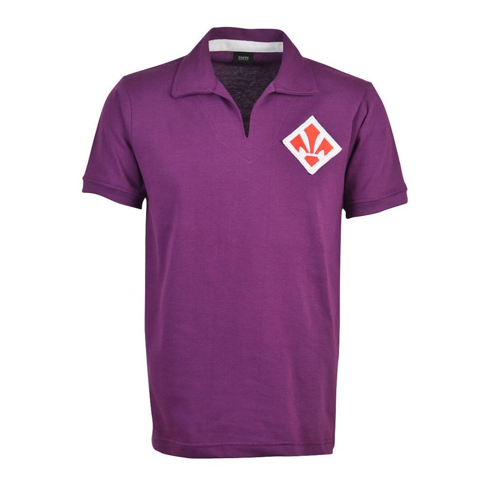 Fiorentina 1965-66 Camiseta Retro Fútbol