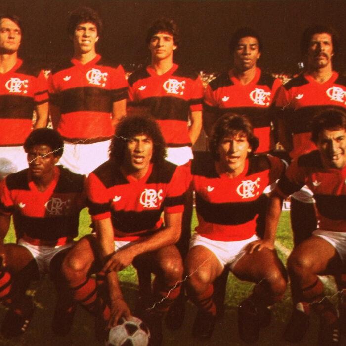 Flamengo 1981 Maglia Storica Calcio