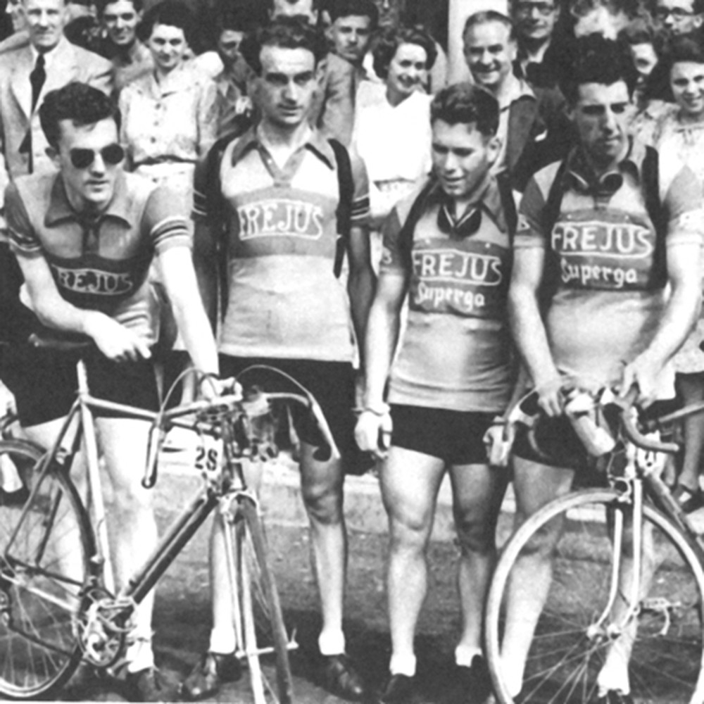 Frejus 1950 Maglia Storica Ciclismo