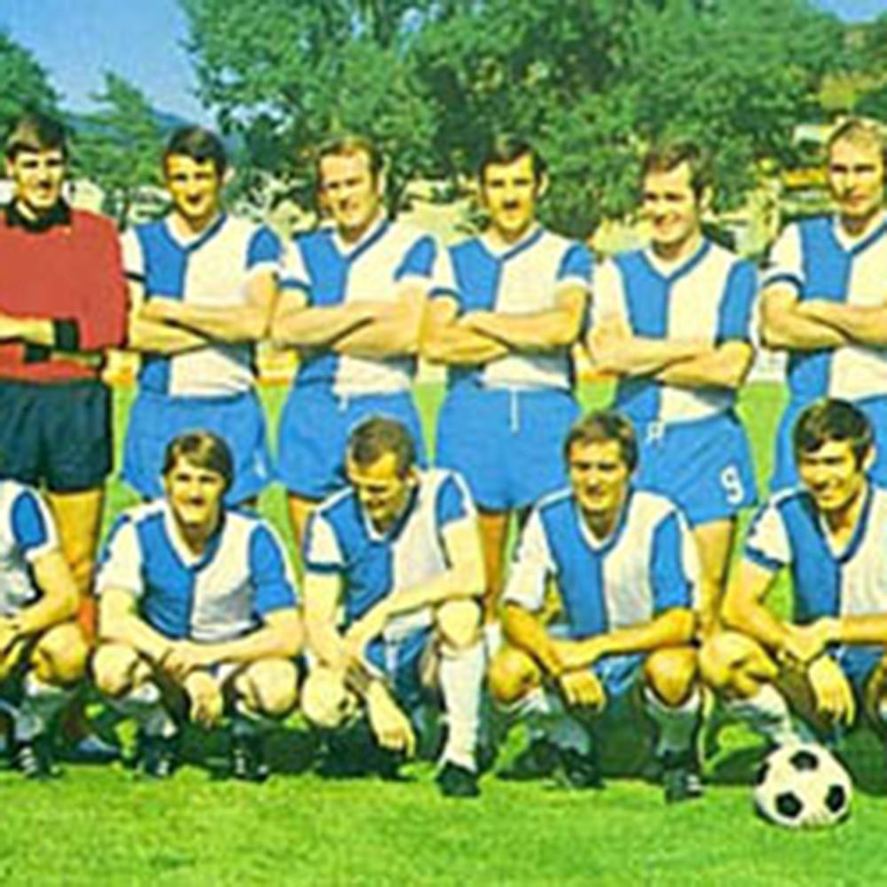 Grasshopper Zurigo 1969-70 Maglia Storica Calcio