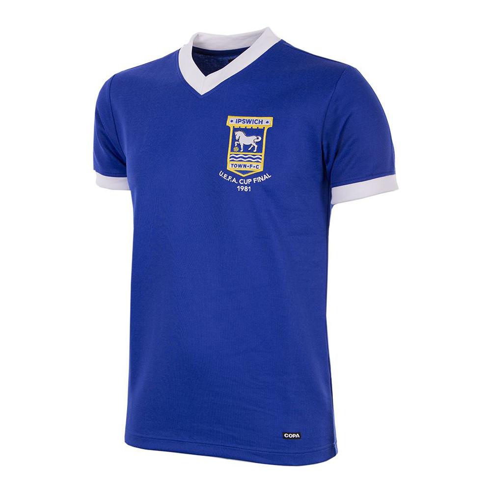 Ipswich Town 1980-81 Camiseta Retro Fútbol