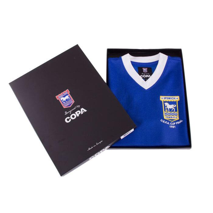 Ipswich Town 1980-81 Maglia Storica Calcio