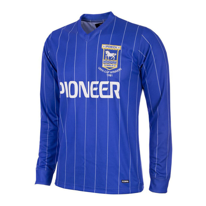Ipswich Town 1981-82 Camiseta Retro Fútbol