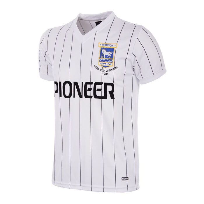 Ipswich Town 1981-82 Maillot Rétro Football