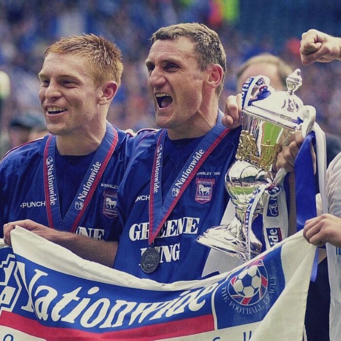 Ipswich Town 1999-00 Maglia Storica Calcio