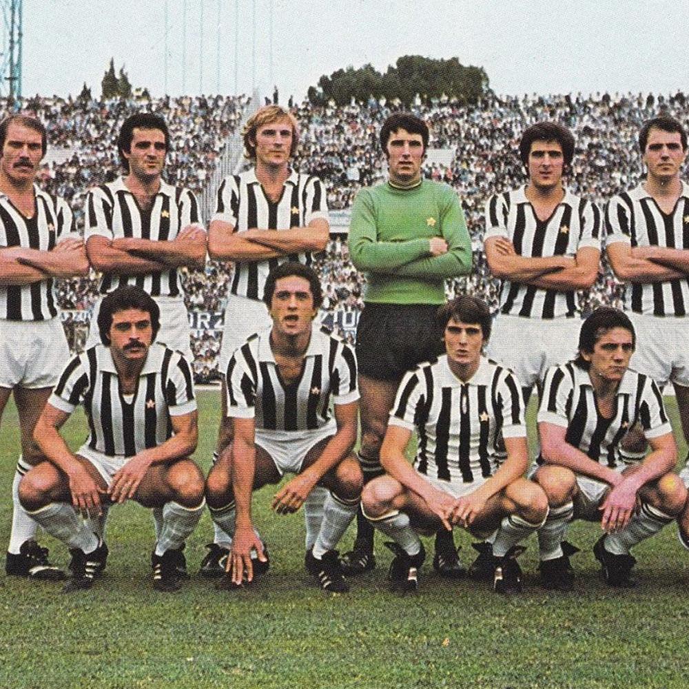 Juventus 1976-77 Maglia Calcio Storica