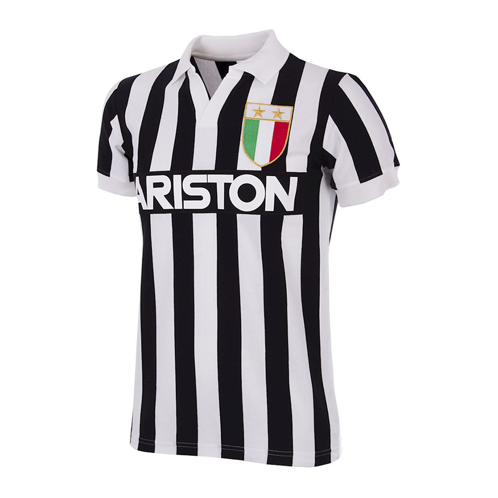Juventus 1984-85 Camiseta Retro Fútbol