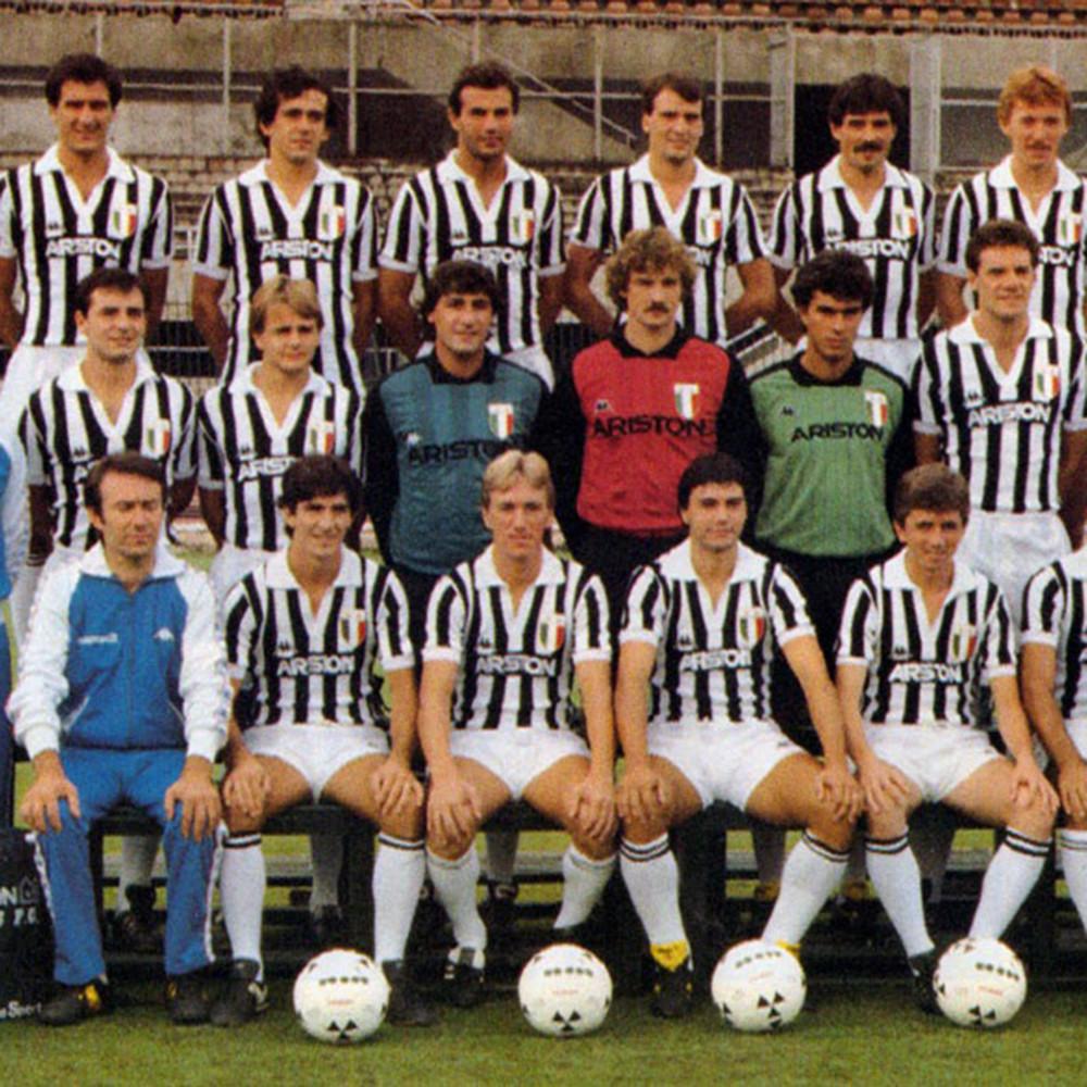 Juventus 1984-85 Maglia Calcio Storica