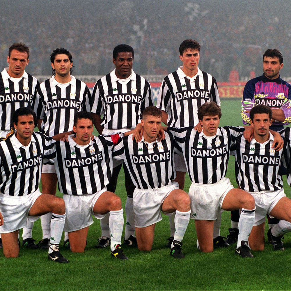 Juventus 1992-93 Maglia Calcio Storica