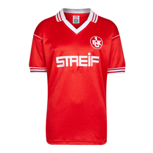 Kaiserslautern 1980-81 Maglia Storica Calcio