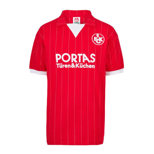 Kaiserslautern 1982-83 Camiseta Retro Fútbol