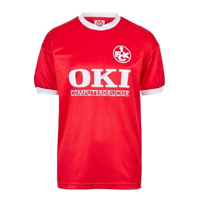 Kaiserslautern 1990-91 Camiseta Retro Fútbol