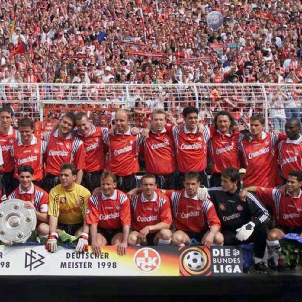 Kaiserslautern 1997-98 Maglia Storica Calcio