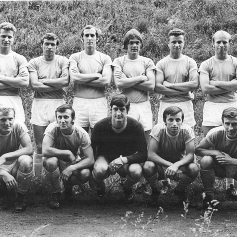 Karl Marx Stadt 1970-71 Maglia Storica Calcio