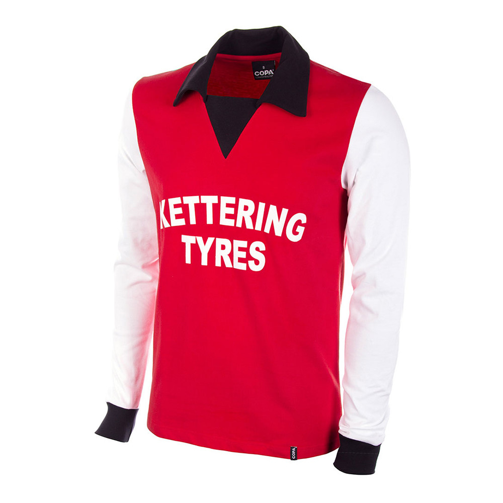 Kettering Town 1975-76 Camiseta Retro Fútbol