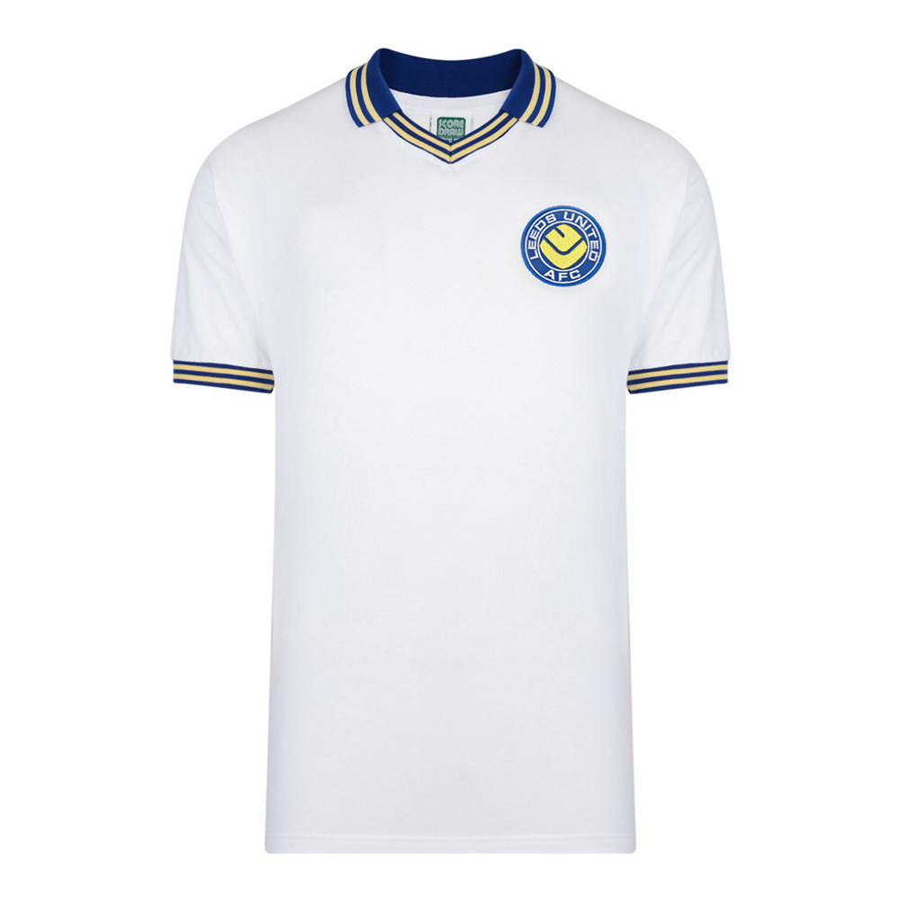 Leeds United 1976-77 Camiseta Retro Fútbol