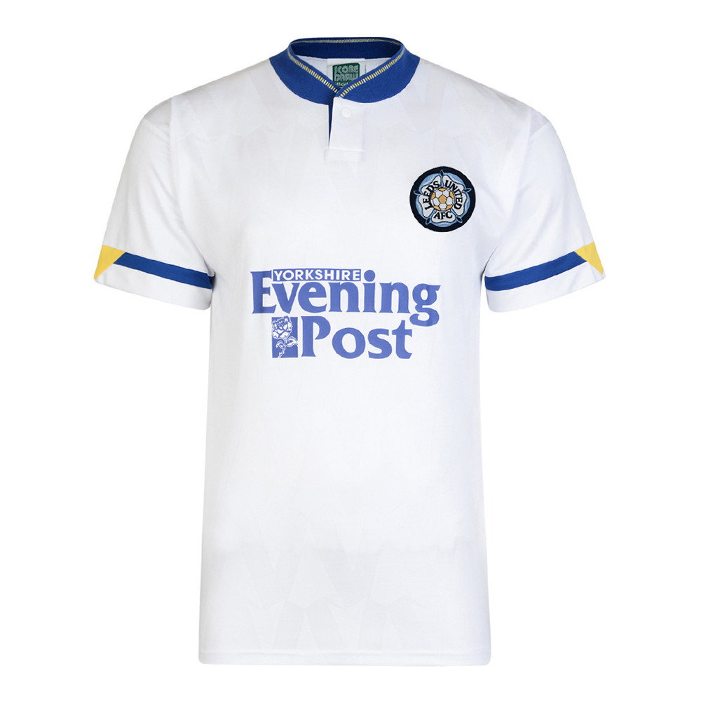 Leeds United 1991-92 Camiseta Retro Fútbol