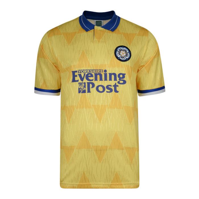 Leeds United 1991-92 Maglia Calcio Storica