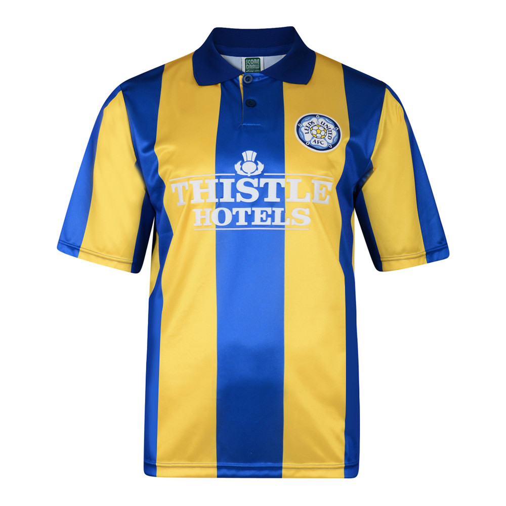 Leeds United 1994-95 Camiseta Fútbol Retro