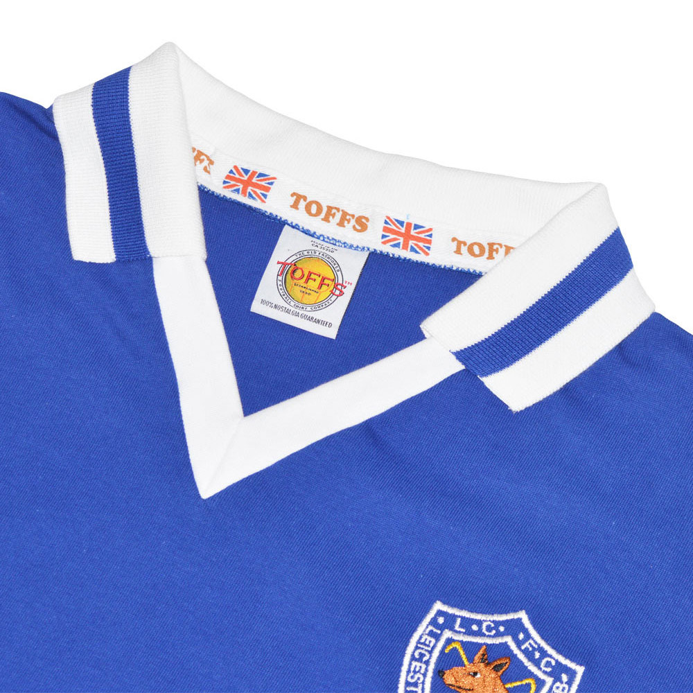 Leicester City 1979-80 Maglia Storica Calcio