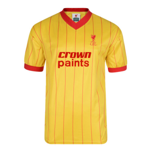 Liverpool 1982-83 Retro Football Jersey