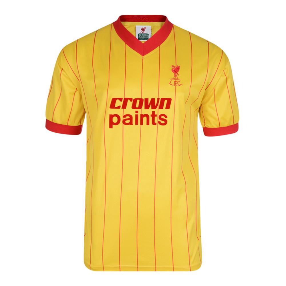 Liverpool 1982-83 Camiseta Fútbol Retro