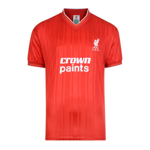 Liverpool 1986-87 Maillot Rétro Foot