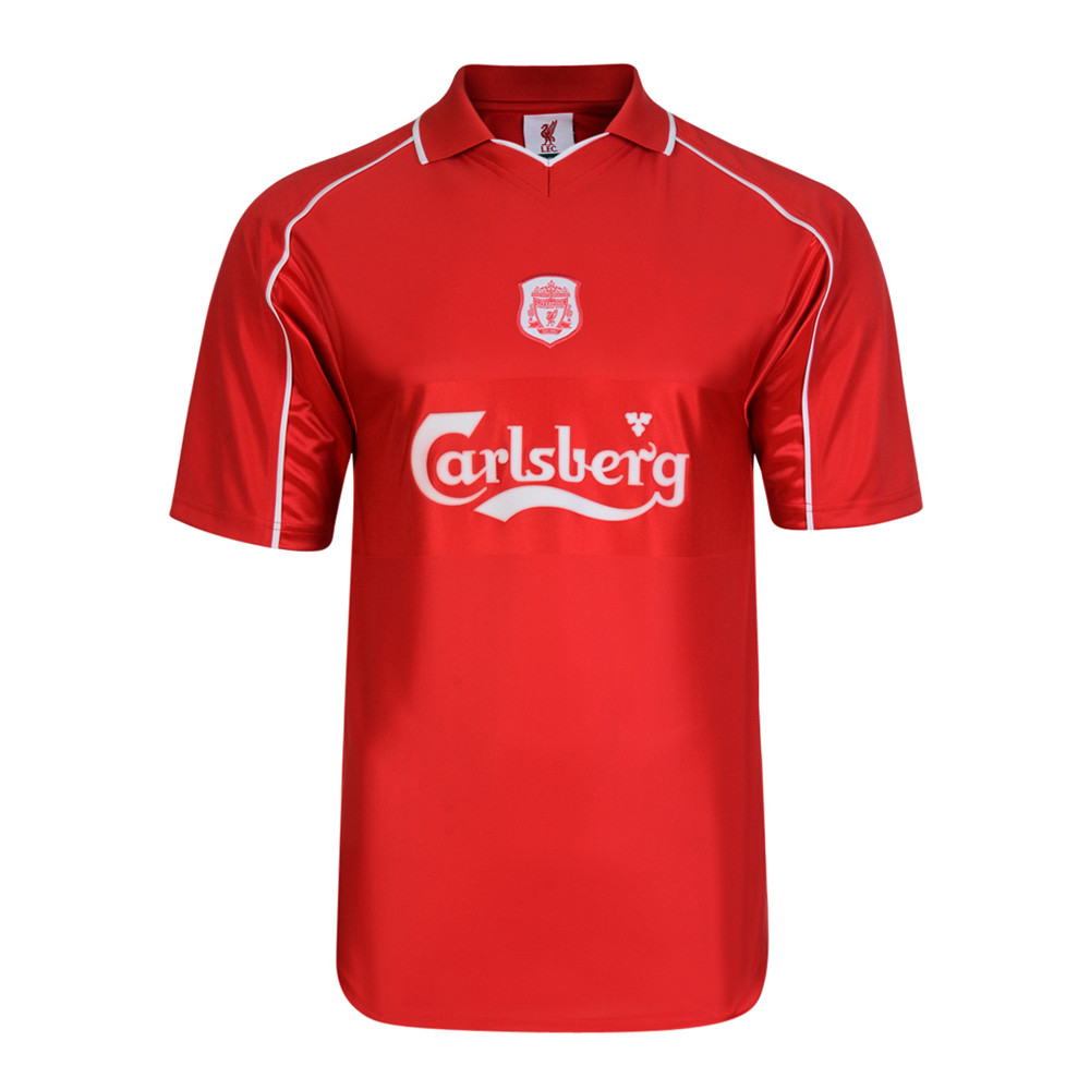 Liverpool 2000-01 Maillot Rétro Foot