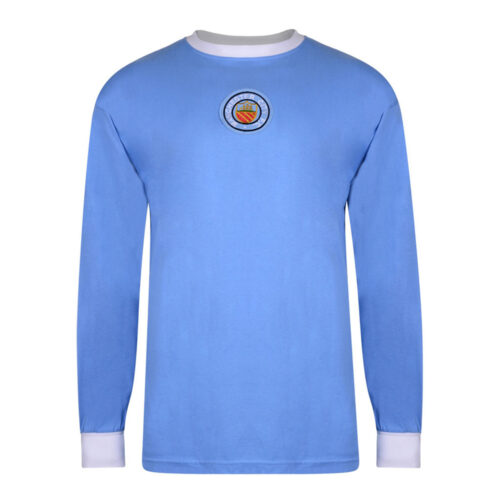 Manchester City 1971-72 Retro Football Shirt