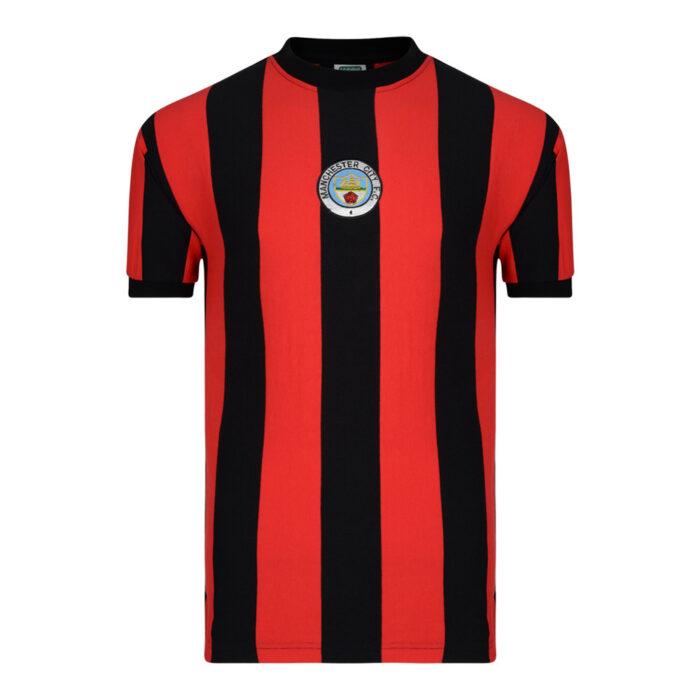 Manchester City 1972-73 Maglia Calcio Storica