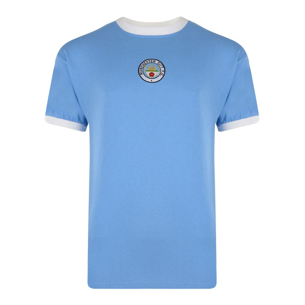 Manchester City 1973-74 Retro Football Shirt