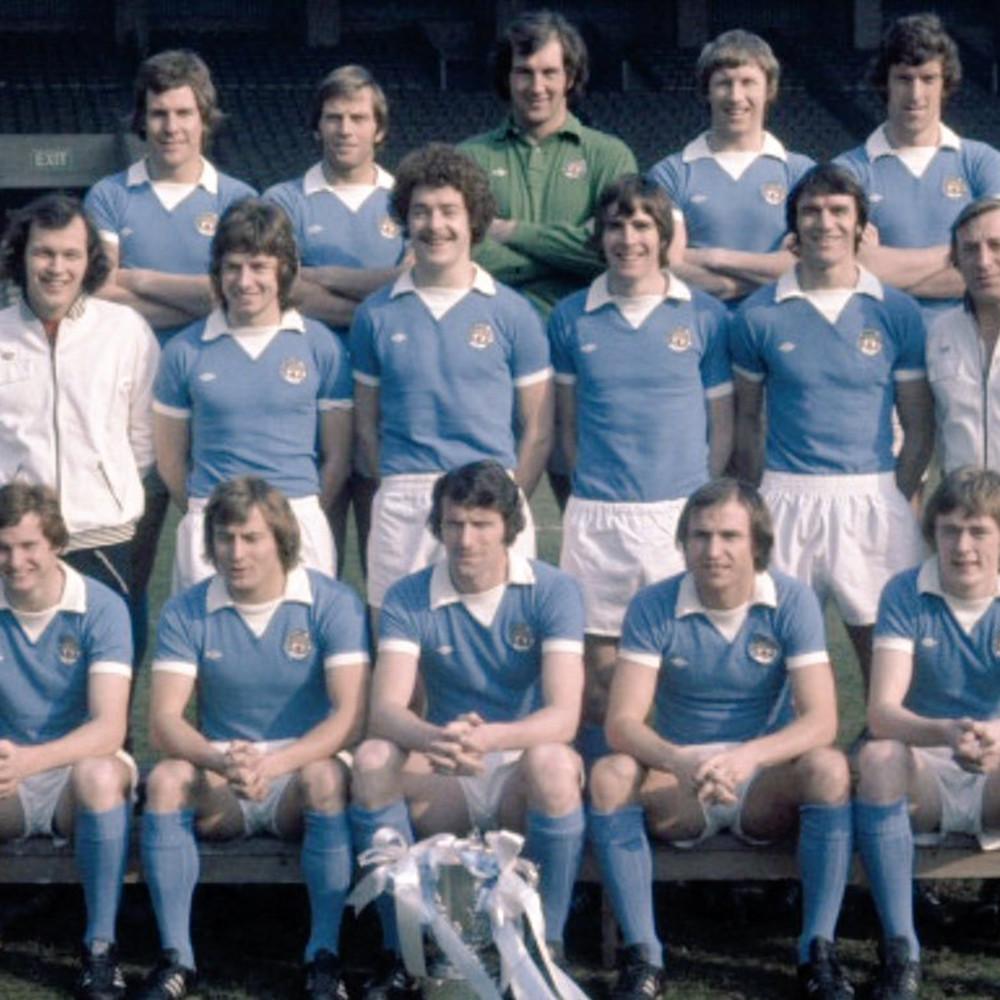 Manchester City 1975-76 Maglia Storica Calcio