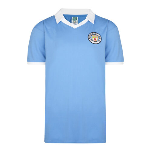 Manchester City 1978-79 Camiseta Retro Fútbol