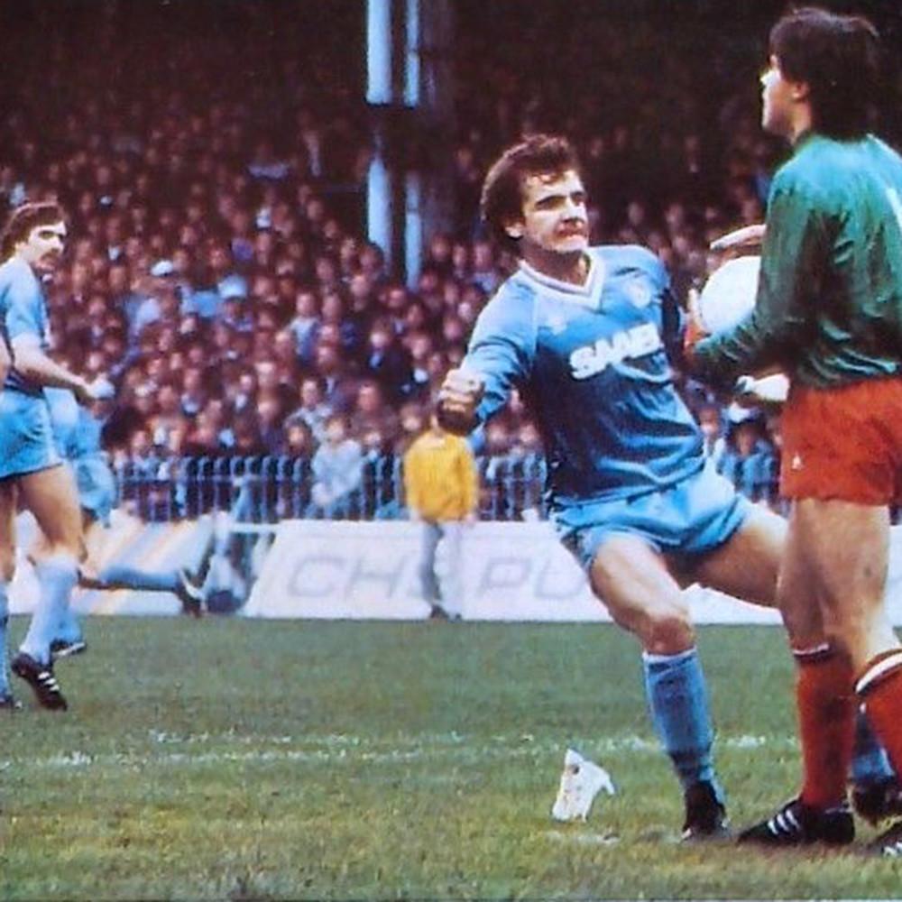 Manchester City 1982-83 Maglia Storica Calcio