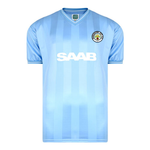 Manchester City 1983-84 Camiseta Retro Fútbol