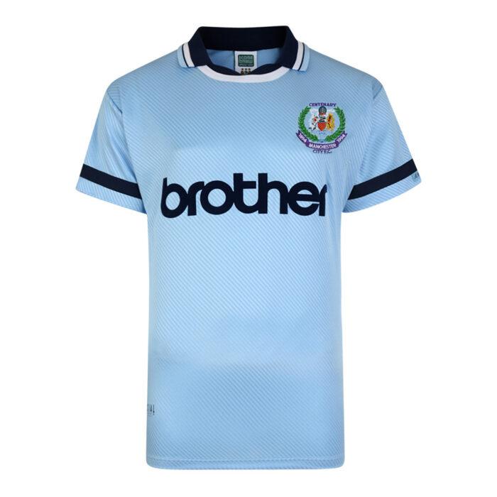Manchester City 1994-95 Maglia Storica Calcio