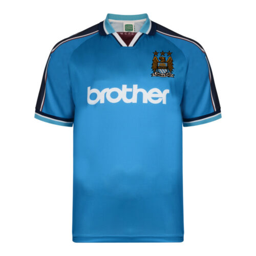 Manchester City 1998-99 Camiseta Retro Fútbol
