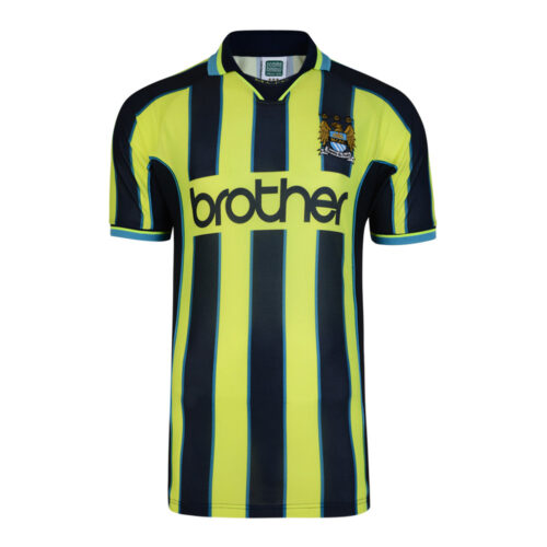 Manchester City 1998-99 Camiseta Fútbol Retro